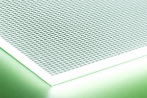 Bright Green LED Light Panel