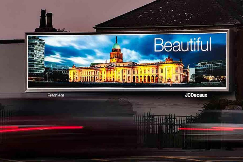 LED backlit billboards