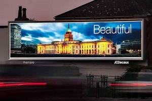LED backlit billboards