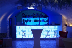 Technical - illuminated bar counter