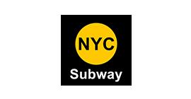 NYC Subway - LED illuminated outdoor advertising