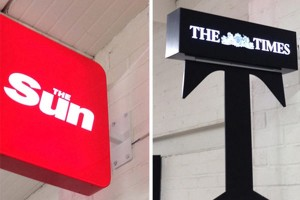 LED Projecting Signs