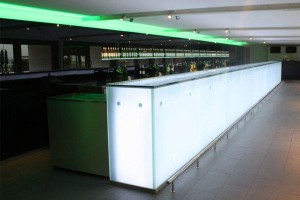 LED backlit bar