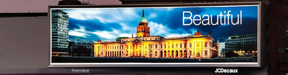 JCDecaux LED backlit signage