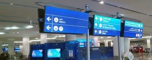 Dubai airport LED Lighting Project - Bright Green Technology