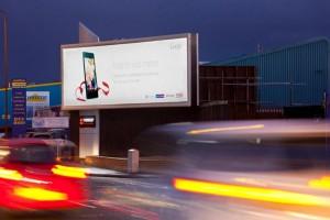 Illuminated advertising sites