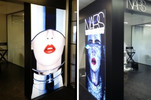 in-store lightboxes