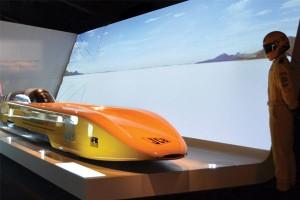 Backlit exhibition displays
