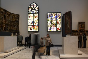 V&A LED stained glass