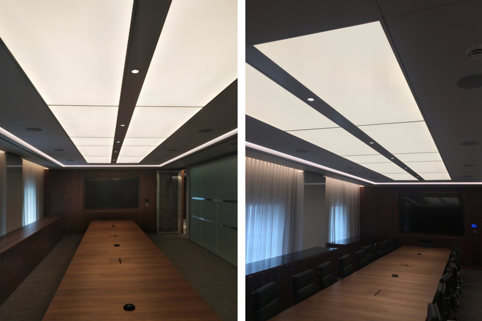 LED Light Sheets for offices
