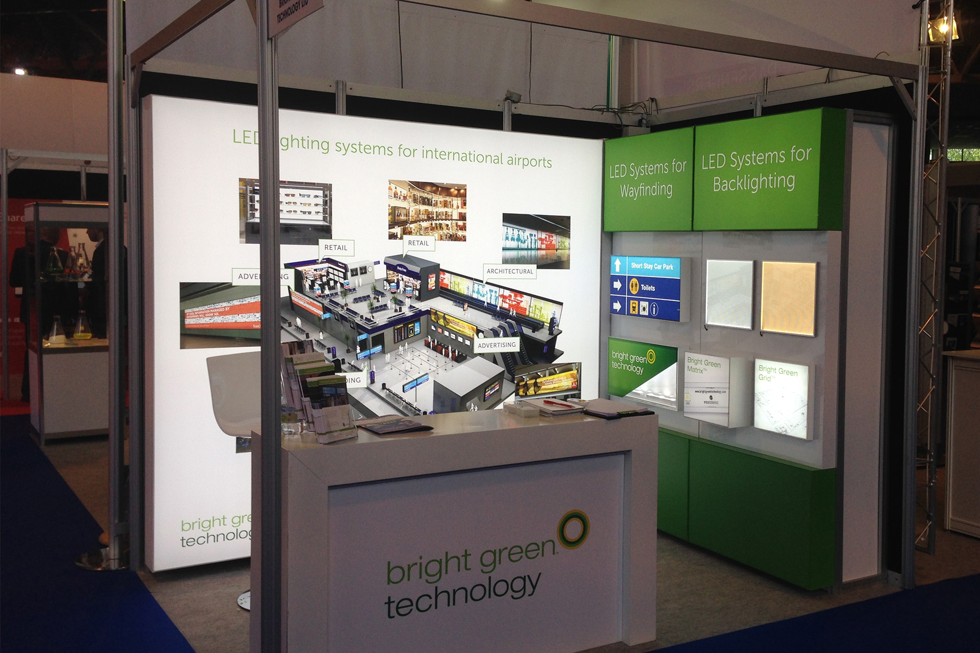 Bright Green Technology at the British Irish Airport Expo