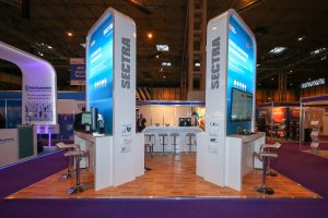 LED sign modules for exhibitions
