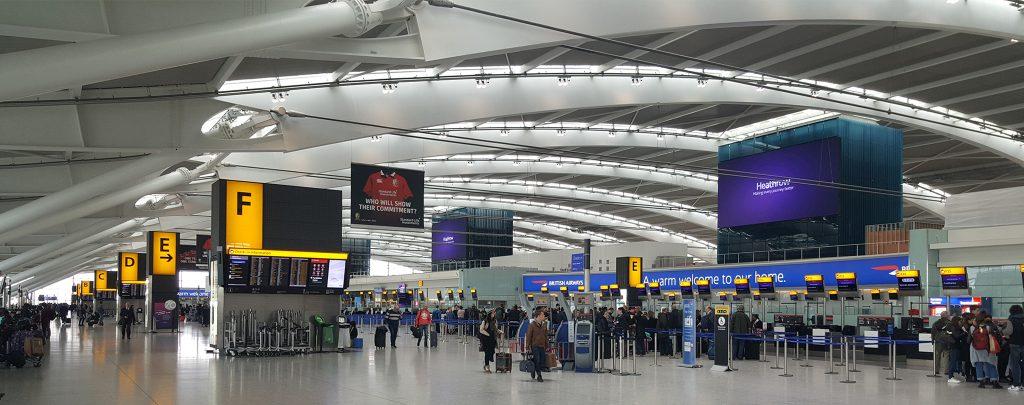 Heathrow Airport Signage
