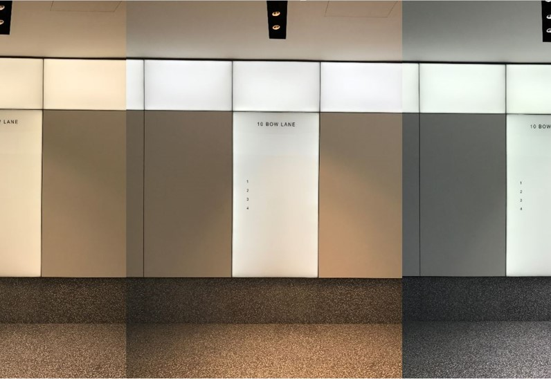 Dynamic White LED Light Panels