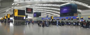 70% energy reduction at Heathrow Airport