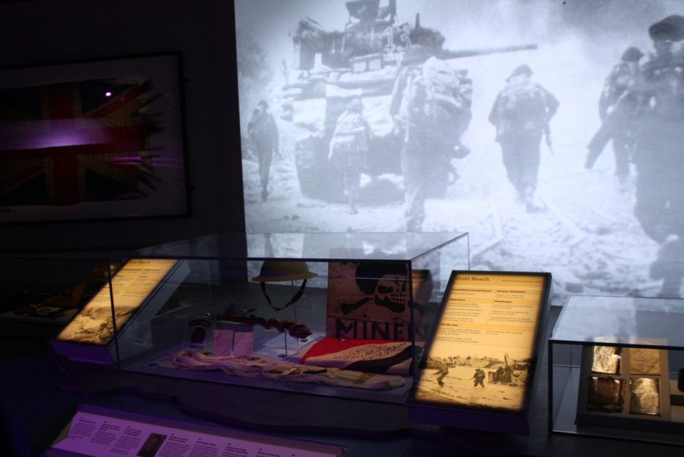 D-Day Museum Portsmouth LED lighting