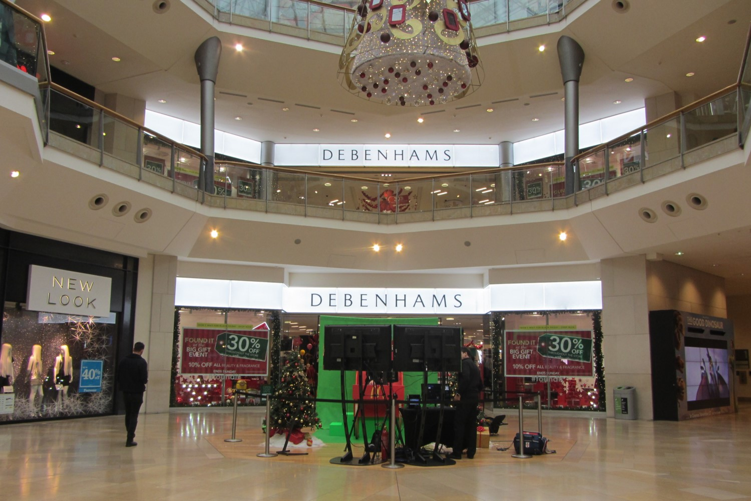 LED retail illumination