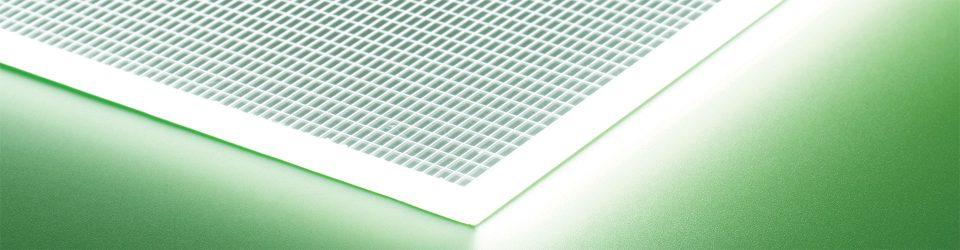 LED Light Sheet Panels | LED Light Panel | Bright Green