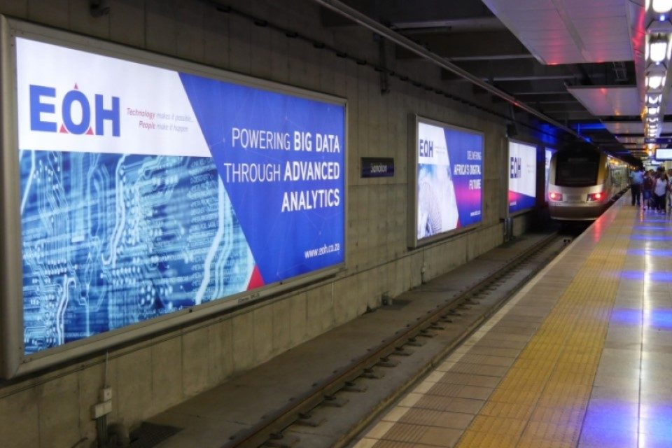 JCDecaux Gautrain South Africa Outdoor Advertising