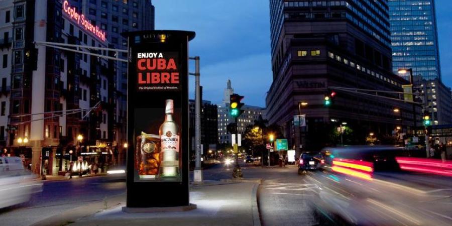 Advertising Columns, Boston USA