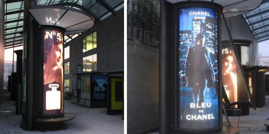 Advertising columns (UK wide)