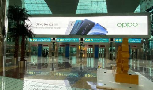 Backlit Advertising, Dubai Airport