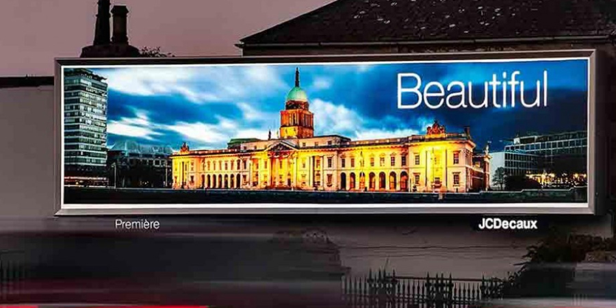 Backlit billboards, Ireland