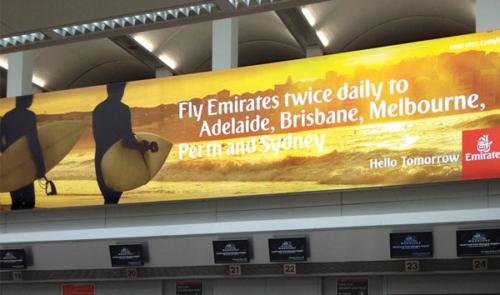Emirates check-in, Edinburgh
