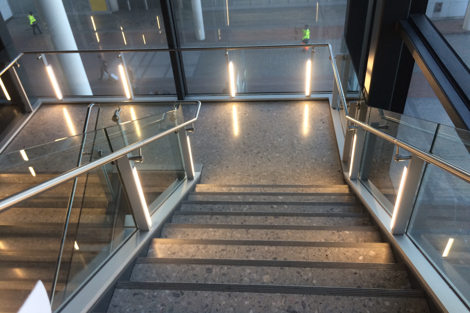 LED lighting retrofit for Heathrow Airport