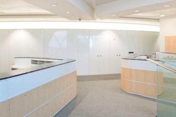 LED Light Sheet in the Kirkland Ellis office