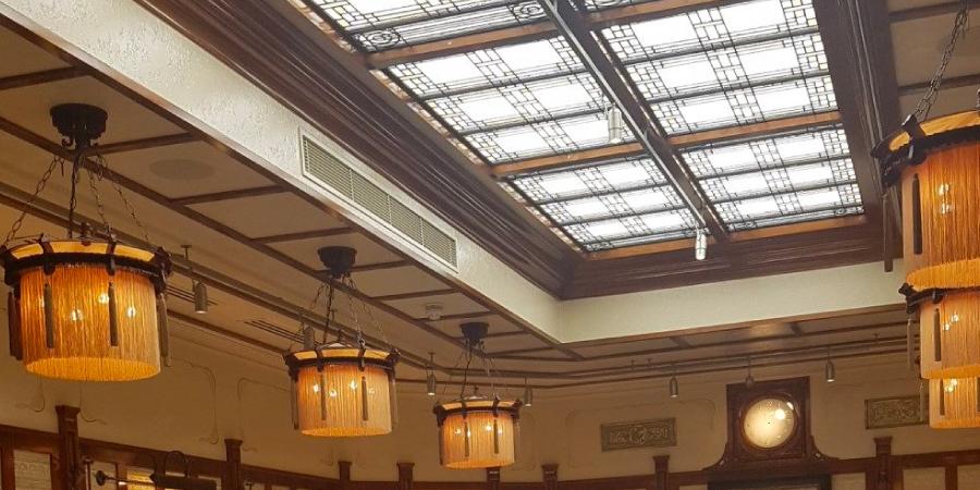 LED Backlit Ceiling