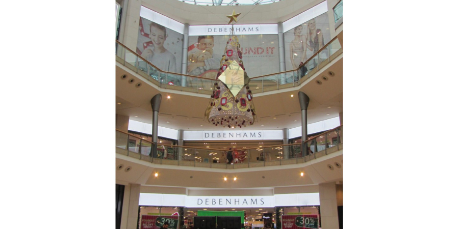 LED retail illumination at Debenhams