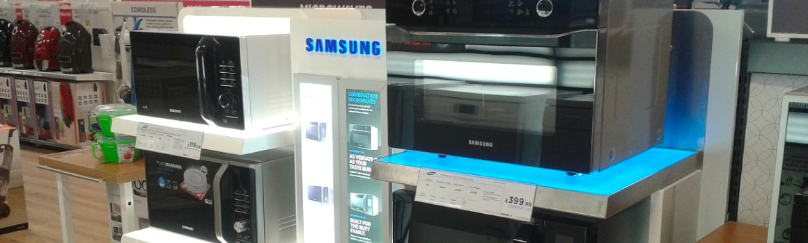 Samsung Brand Displays, Currys PC World
