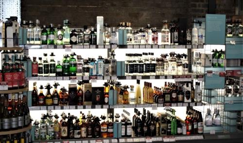 Waitrose Drinks Displays