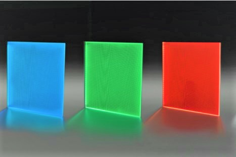 LED Light Panel colours