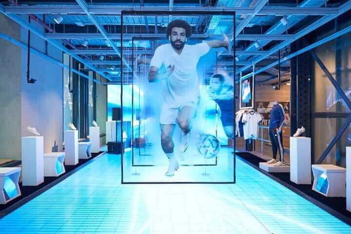 LED light sheet for retail