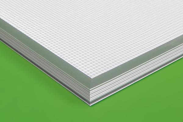 LED Light Sheet frame B profile detail