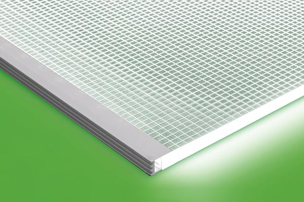 LED Light Sheet profile detail