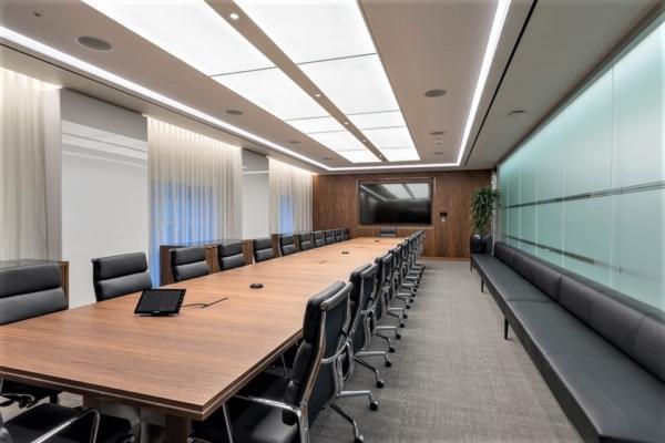 Custom LED Light Sheet for office ceilings